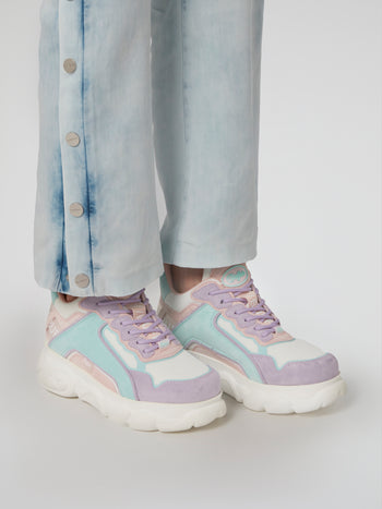 CLD Chai Pastel Mesh Sneakers
