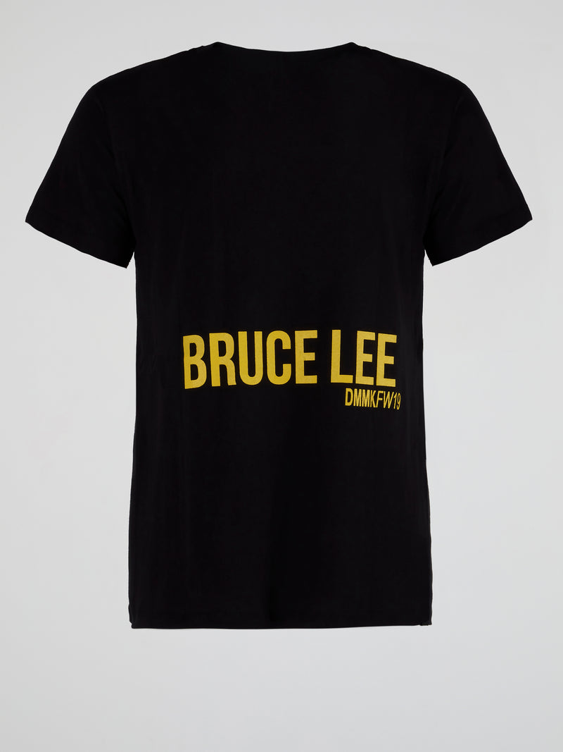 Black Bruce Lee Teaser T-Shirt