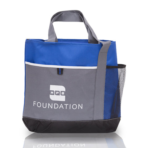 Blue MPB Foundation Canvas Tote Bag