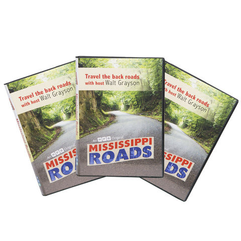 Mississippi Roads 2018 Season (3 DVD Set)