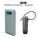 30000mAH Branded Power Bank With Free Bluetooth