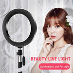 LED Big Ring Light Dimmable With Remote Control