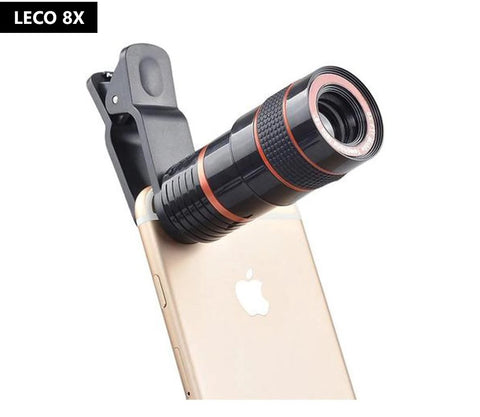 LECO 8X Zoom HD Universal Optical Zoom Mobile Phone Lens
