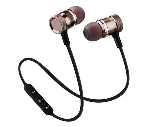 LECO Magnetic Bluetooth Headset with Mic