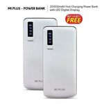Buy 1 Get 1 Mi Plus 20000 mAh Power Bank