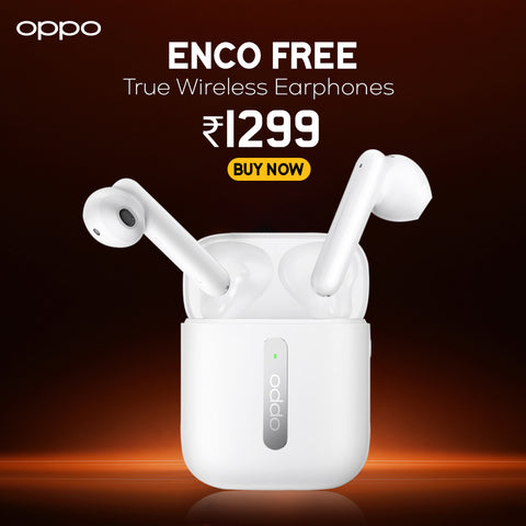 OPPO ENCO Free True Wireless Headphone (White)