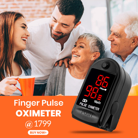 Finger Tip Digital Pulse Oximeter