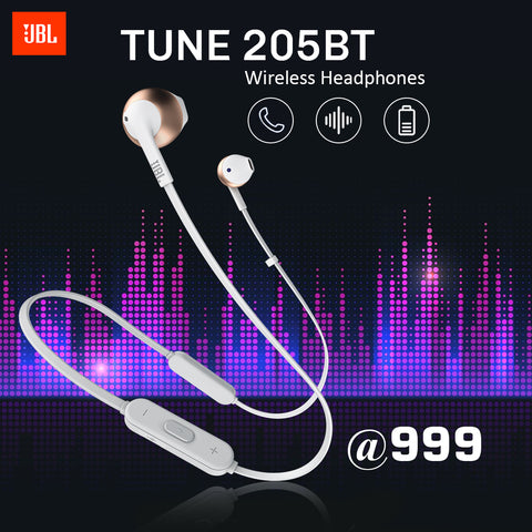 JBL Tune 205BT Wireless Headphone