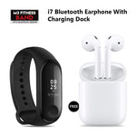 M3 Smart Band + i7 Dual With Charging Dock Free
