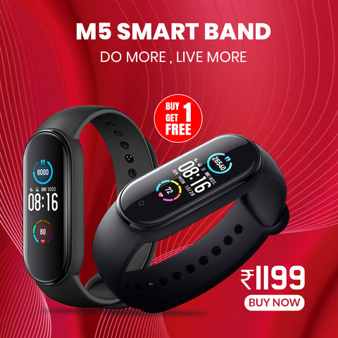 Buy 1 Get 1 M5 Smart Talk Band