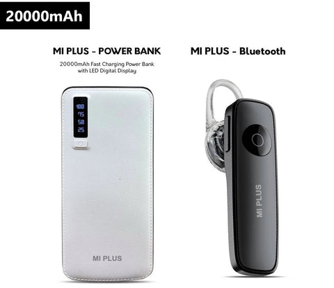 MI PLUS 20000MAH POWER BANK + BLUETOOTH