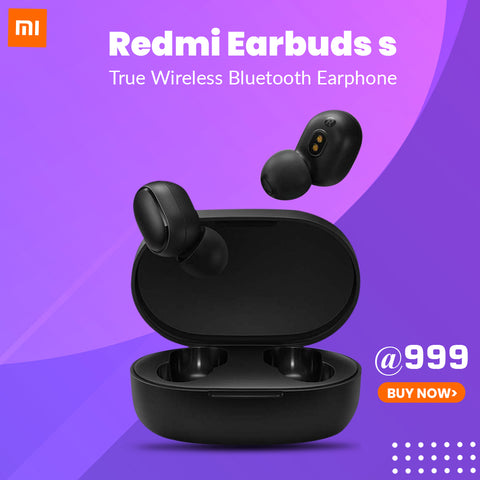 Redmi Earbuds S, Punchier Sound , IPX4 Sweat & Splash Proof
