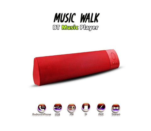 Music Walk Music-Player Portable Bluetooth Mobile/Tablet Speaker