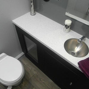 3-stall ADA restroom trailer with upscale features