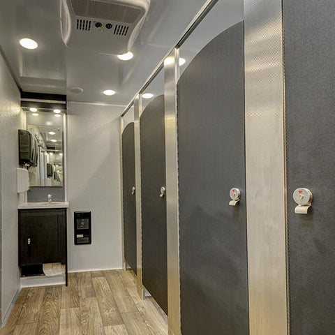 Gold Restroom Trailers