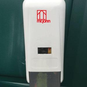 hand sanitizer in dispensing unit