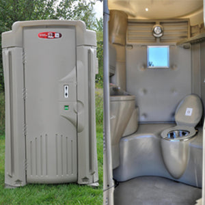 High Tech VIP Porta Potty