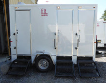 Load image into Gallery viewer, Silver Restroom Trailer