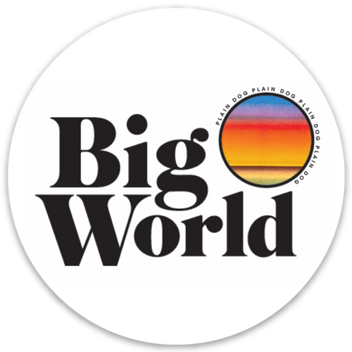 Big World Sticker