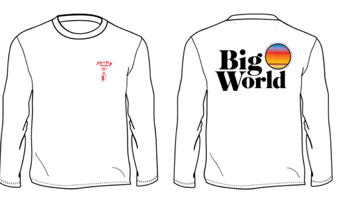 Big World by Plain Dog Long Sleeve Shirt
