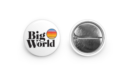 Big World Pin