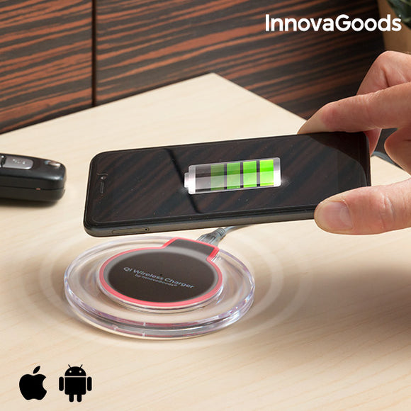 Innovagoods Qi Wireless Charger For Smartphones