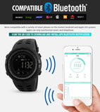 New Bluetooth Smart Watch Skmei Brand For Apple Ios Android Digital Smartwatch 50M Waterproof Fashion Pedometer Sport Watches - Smartwatch