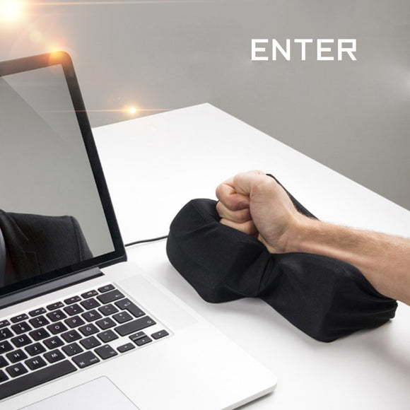 Is that a Super Big Enter Key or an Anti-stress Pillow ?