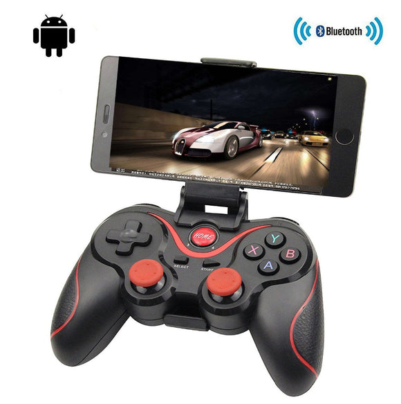 Wireless Joystick Gamepad For Mobile Phone Tablet TV with Box Holder