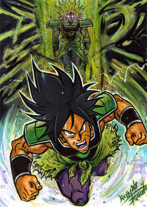 Dragon Ball Super Broly by Djiguito