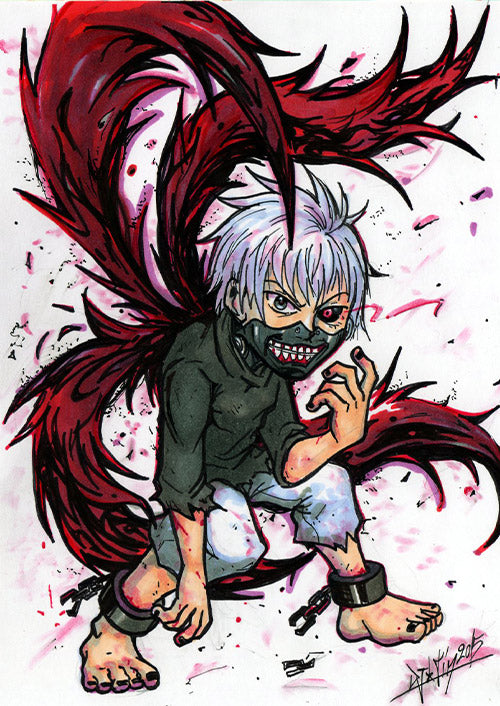 Tokyo Ghoul by Djiguito
