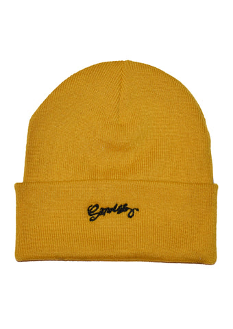 Bonnet Sanouss Jaune Moutarde