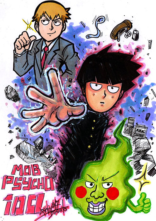 Mob Psycho 100i by Djiguito