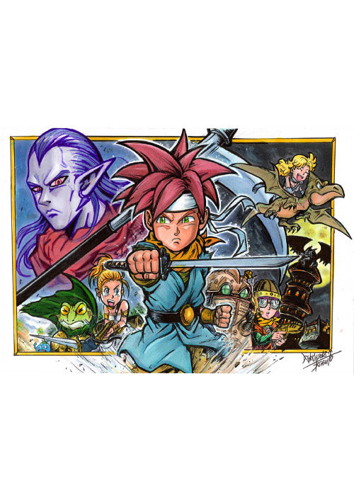 Chrono Trigger Tribute by Djiguito