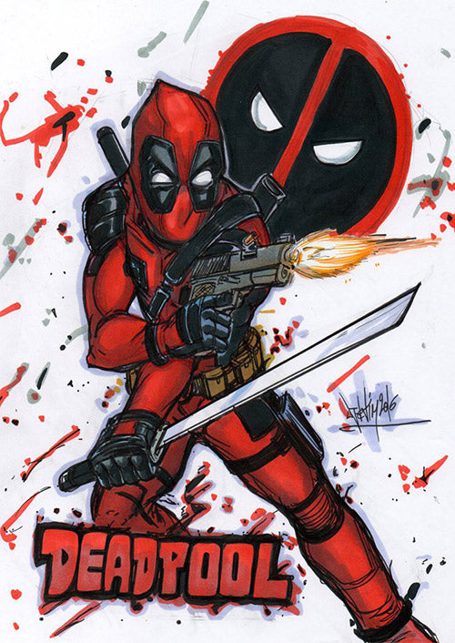 Deadpool Bang by Djiguito
