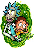 Rick And Morty by Djiguito