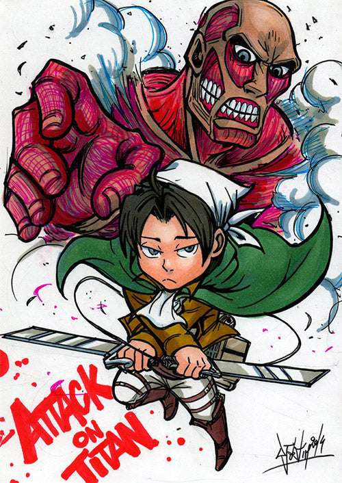 Attack On Titan by Djiguito