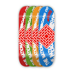 The National Skateboard Co. Logo Whirl deck