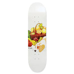 "Skateboard Cafe Healthy 8.25"" deck white"