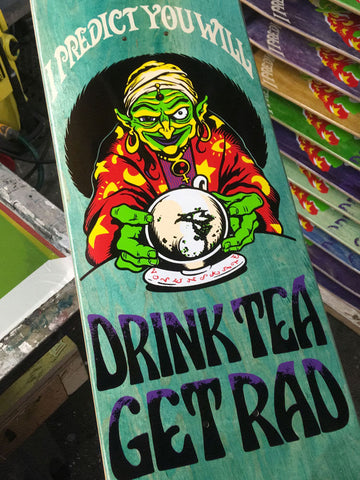 Lovenskate Drink Tea, Get Rad - Dave the Chimp