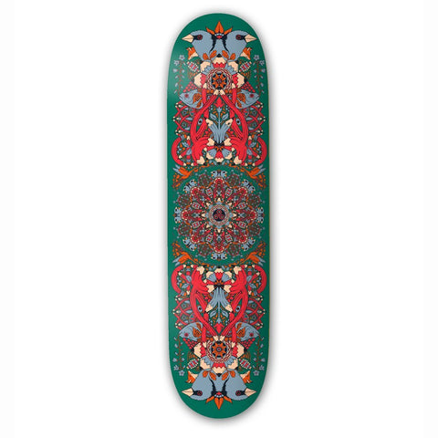 Drawing Boards Mandala Green