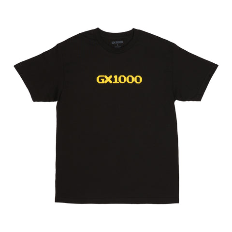 GX1000 Logo Tee Black/Yellow