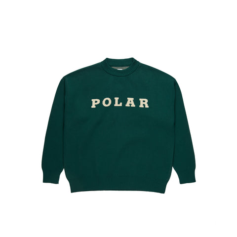 Polar Knit Jumper Dark Green