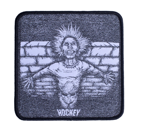 Hockey Crippling woven patch