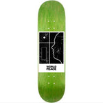 "World Peace Belief System 8"" deck green"
