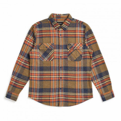 Brixton Bowery L/S Flannel Sage
