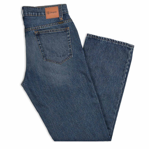 Brixton Labor Denim Worn Indigo