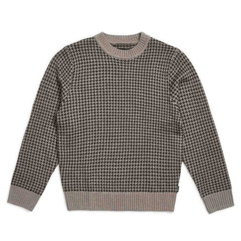 Brixton Wes Sweater Washed Black/Grey