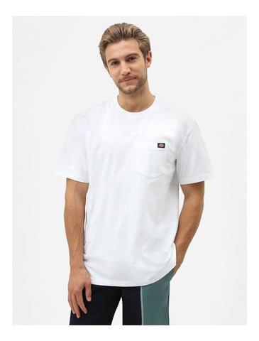 Dickies Porterdale pocket tee white