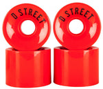 D-Street Cruisers Red 59mm
